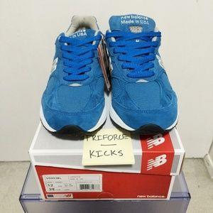New Balance 993 Blue suede
